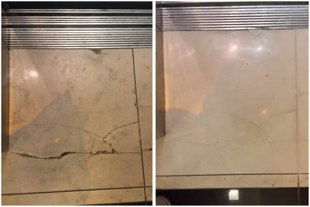 Marble chips/cracks repair