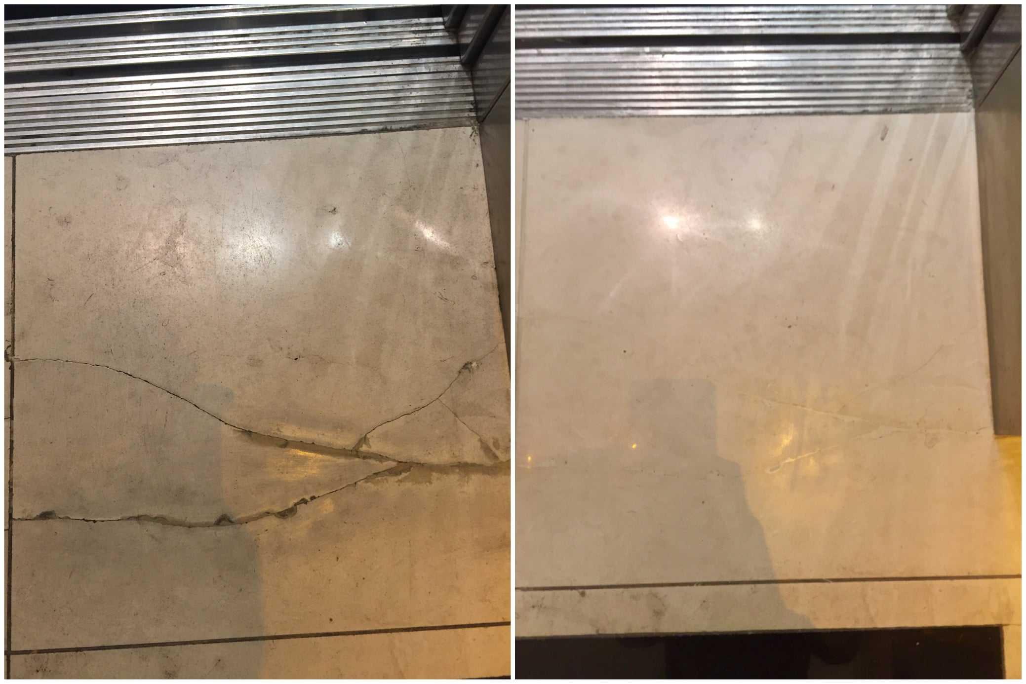 Marble Cracks Filled