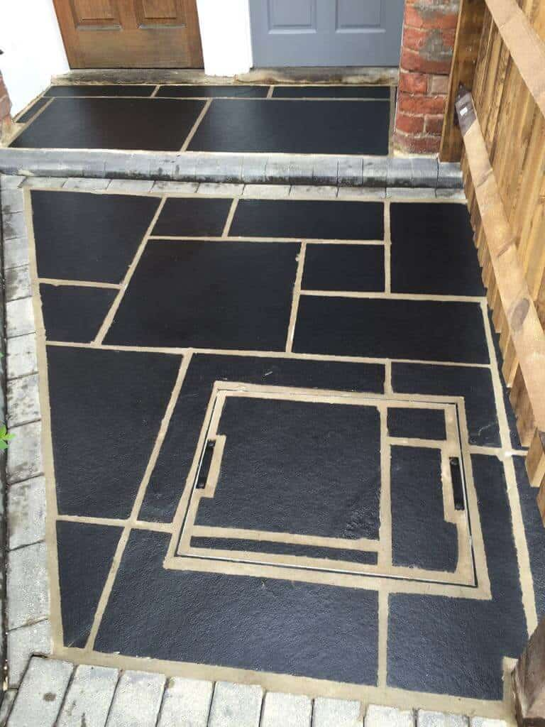 Slate cleaning and treatment