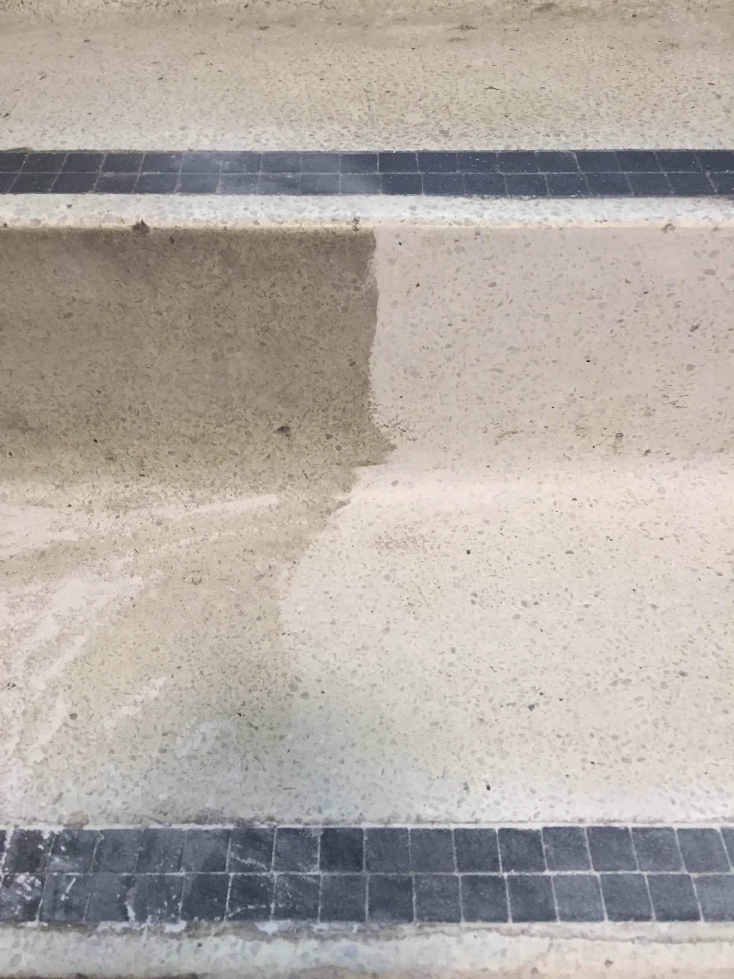Terrazzo polishing and repair
