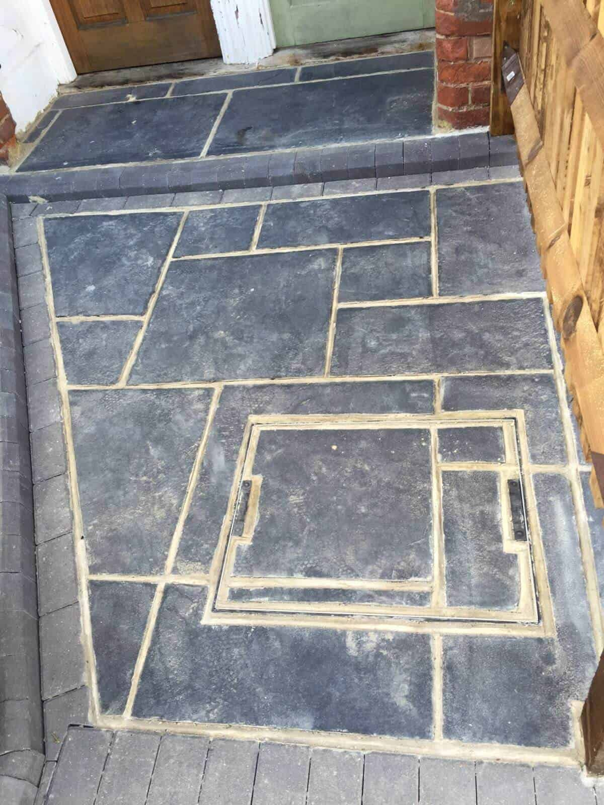 slate cleaning and seal