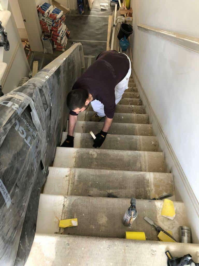 Staircase restoration 1