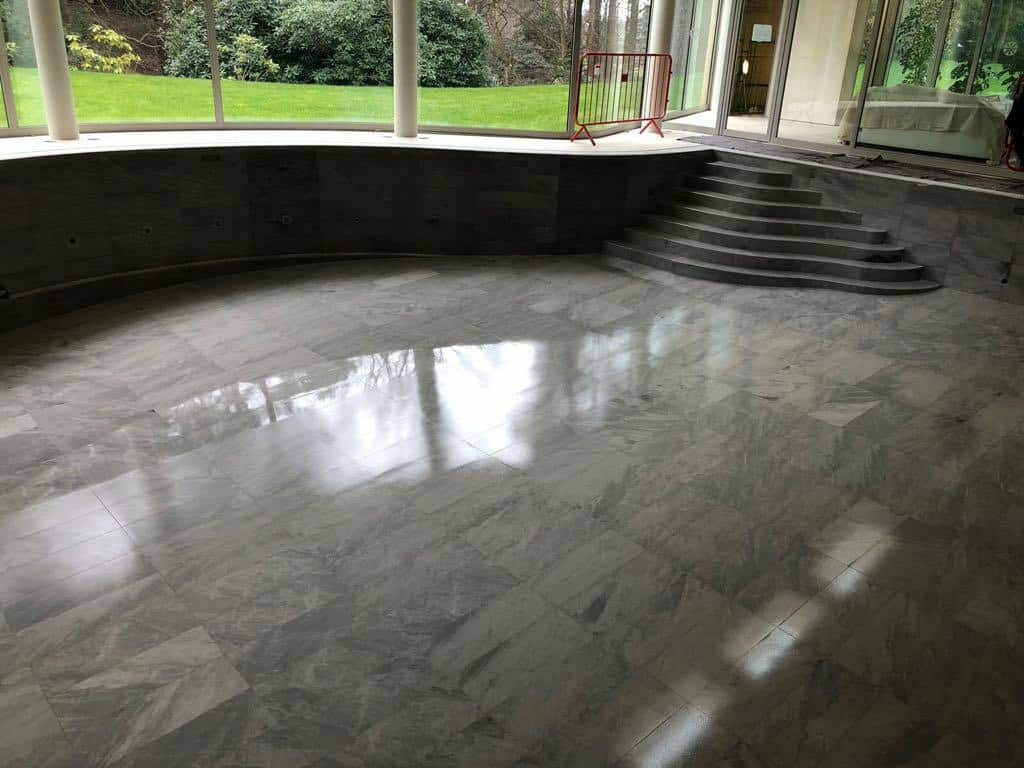 Marble swimming pool full restoration