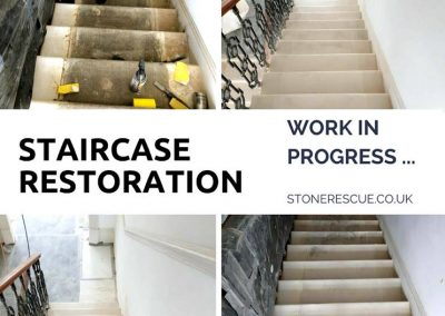 Staircase full restoration