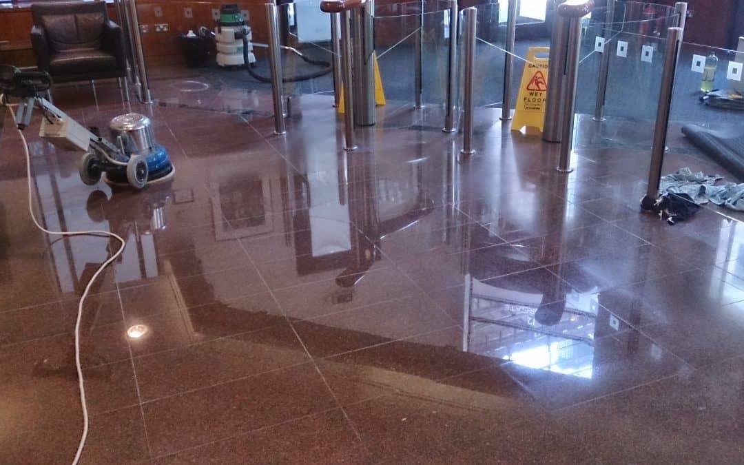 Granite floor restoration