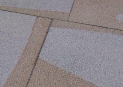 non-slip floor sandstone