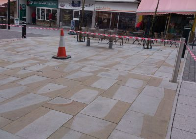 non-slip york stone floor