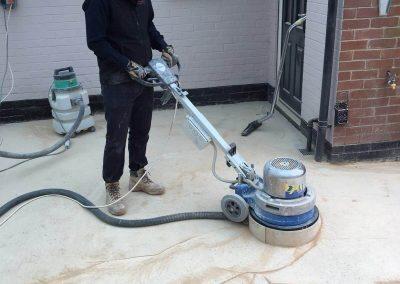 concrete floor restore and polish