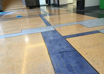 Gym Hall Terrazzo Floor Restoration