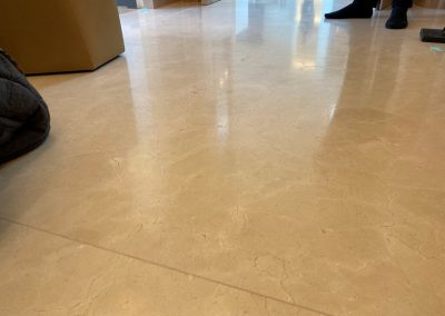 Leather finish marble floor