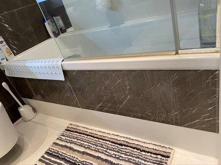 Bathroom area restoration